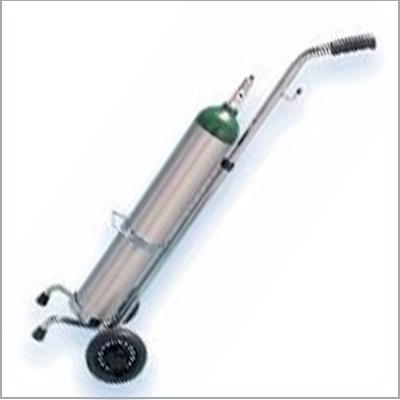 Portable liquid oxygen tank