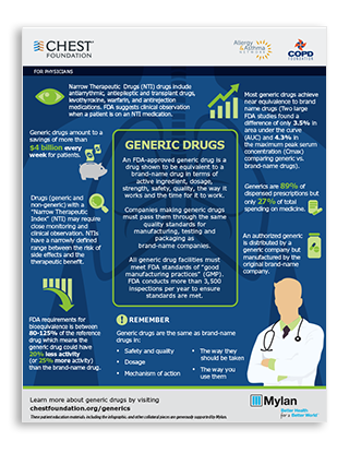 Physician Generic Drug Infographic