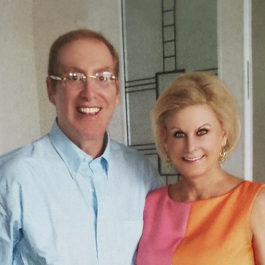 Bart Chernow, MD, Master FCCP, and Peggy Chernow
