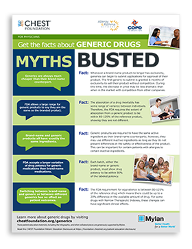 Physician Generic Drugs Myths Busted