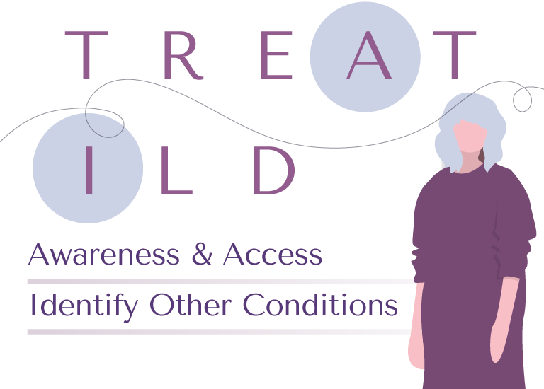 TREAT ILD—A: awareness and access, I: identify other conditions