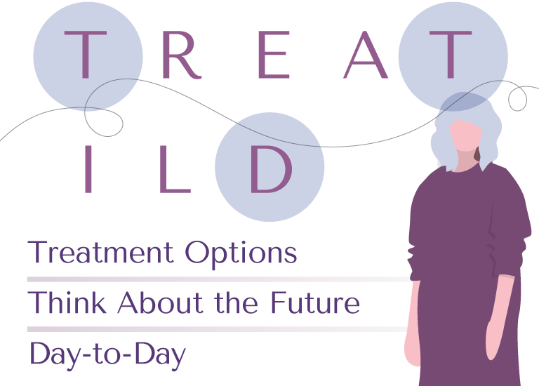 TREAT ILD—T: treatment options, T: think about the future, and D: day-to-day