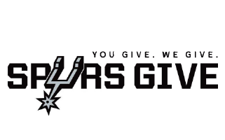 You Give. We Give. SPURS Give.